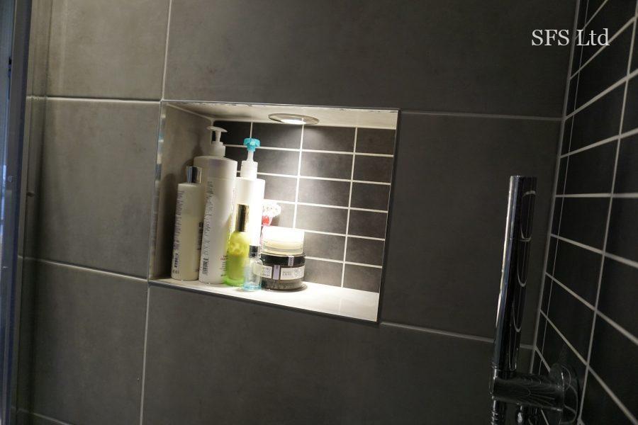 Two bathrooms renovation in Monkston Park-13