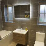 Two bathrooms renovation in Monkston Park-2