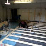 Converting double garage to a studio in Fishermead-2