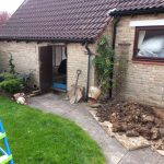 Converting double garage to a studio in Fishermead-6