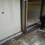 Converting double garage to a studio in Fishermead-8