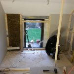 Converting double garage to a studio in Fishermead-9
