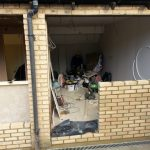 Converting double garage to a studio in Fishermead-14