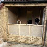 Converting double garage to a studio in Fishermead-15