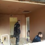 Converting double garage to a studio in Fishermead-13