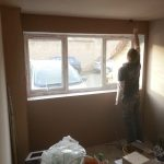Converting double garage to a studio in Fishermead-19