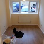 Converting double garage to a studio in Fishermead-22