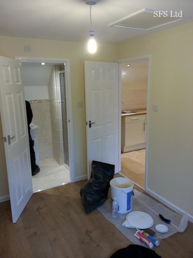 Converting Double Garage To A Studio In Fishermead