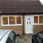 Converting double garage to a studio in Fishermead-17
