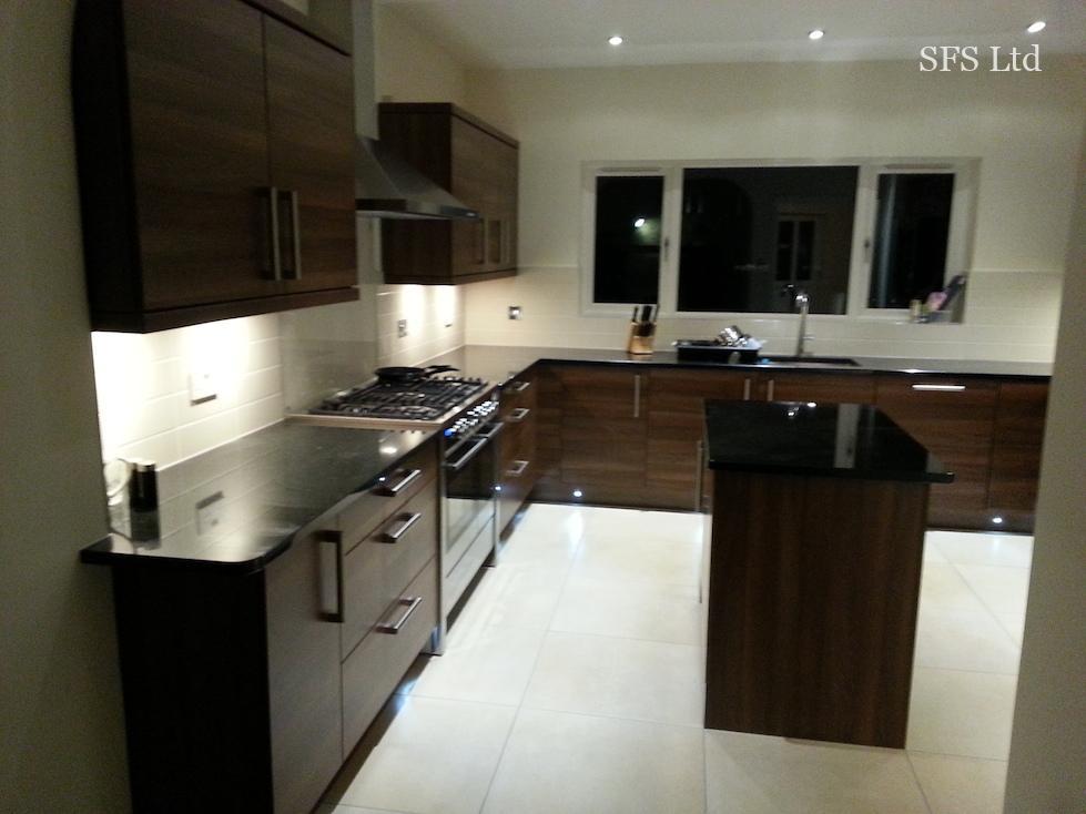 Big kitchen & utility room renovation in Furzton-21