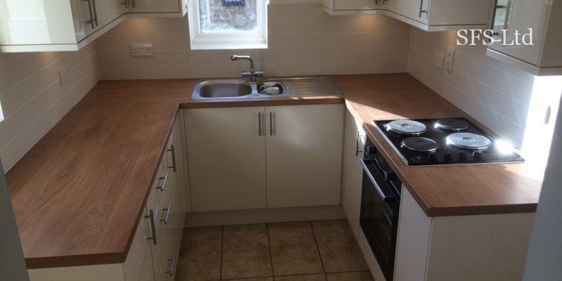 Small kitchen renovation in Walnut Tree-7