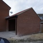 Garage building in Newport Pagnell