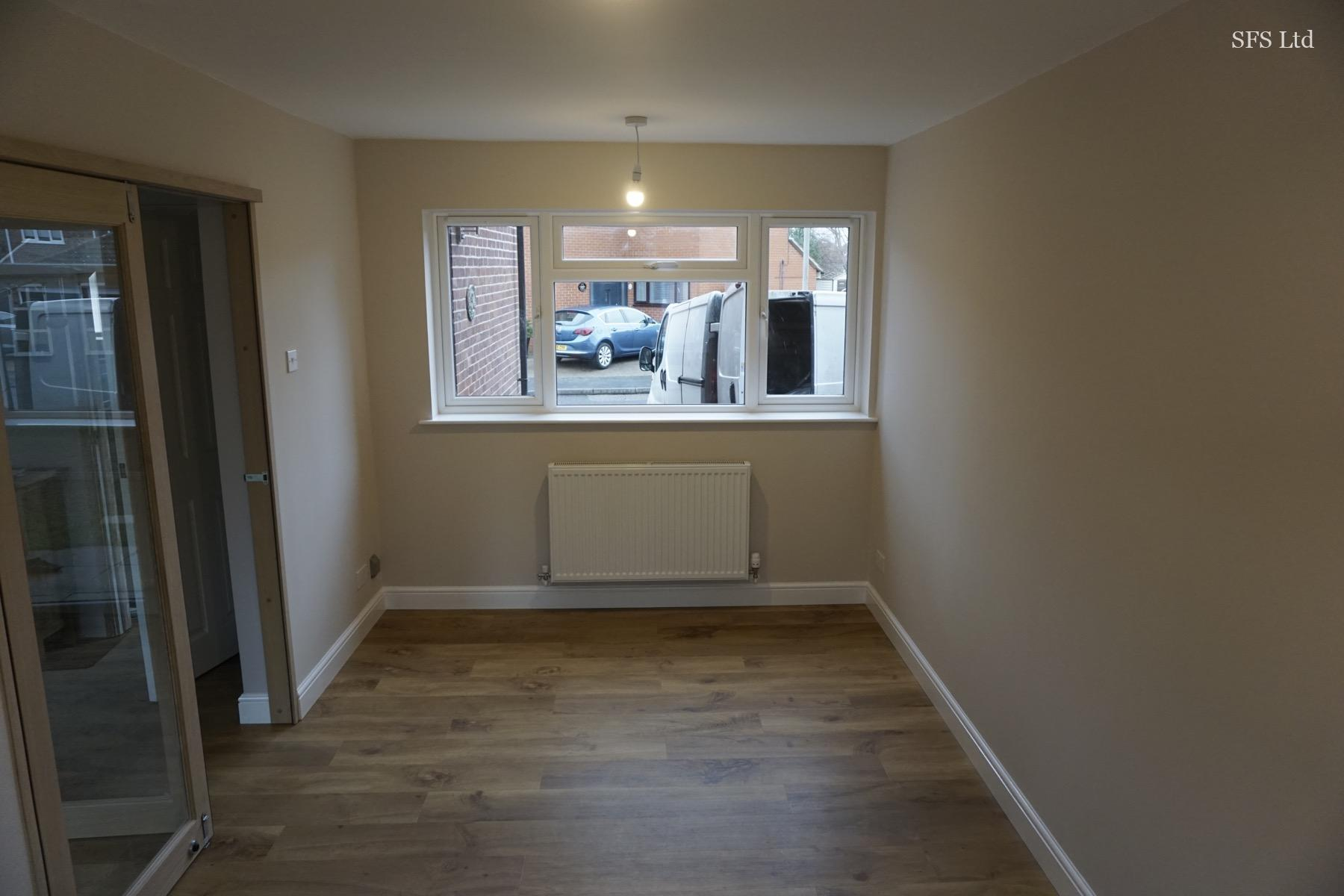 Garage conversion in Newport Pagnell 4