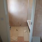 Guest bathroom renovation in Oakridge 1